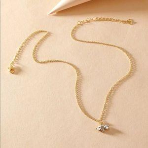 Bumblebee Necklace   Tiny Jewelry